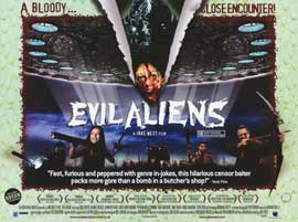 Evil Aliens - 11 x 17 Movie Poster - Style A