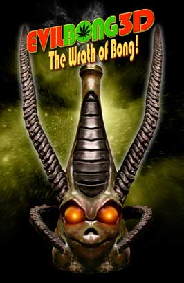 Evil Bong 3-D: The Wrath of Bong - 11 x 17 Movie Poster - Style A