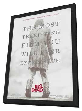 Evil Dead - 27 x 40 Movie Poster - Style A - in Deluxe Wood Frame