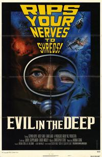 Evil in the Deep - 11 x 17 Movie Poster - Style A