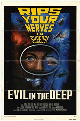Evil in the Deep - 27 x 40 Movie Poster - Style A