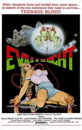 Evils of the Night - 11 x 17 Movie Poster - Style A