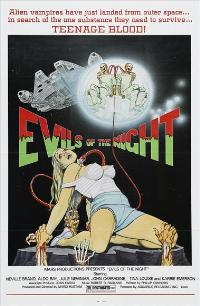 Evils of the Night - 43 x 62 Movie Poster - Bus Shelter Style A