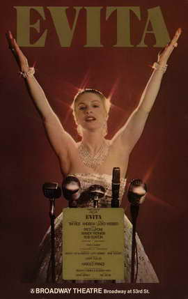 Evita (Broadway) - 11 x 17 Poster - Style A
