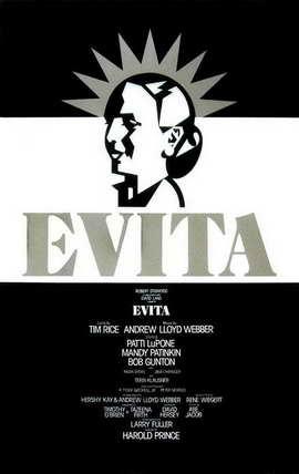 Evita (Broadway) - 11 x 17 Poster - Style B