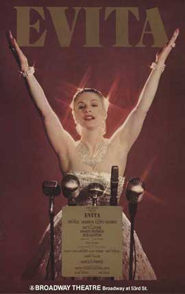 Evita (Broadway) - 27 x 40 Poster - Style A