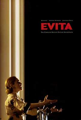 Evita - 27 x 40 Movie Poster - Style C