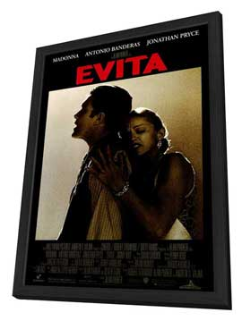 Evita - 11 x 17 Movie Poster - Style A - in Deluxe Wood Frame