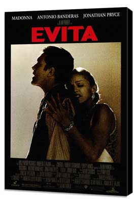 Evita - 11 x 17 Movie Poster - Style A - Museum Wrapped Canvas