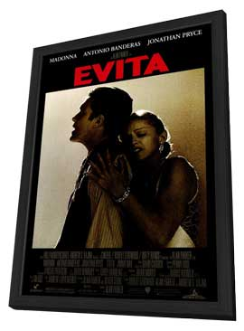 Evita - 27 x 40 Movie Poster - Style A - in Deluxe Wood Frame