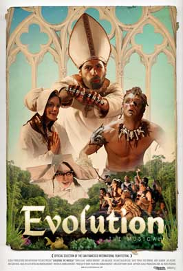 Evolution: The Musical! - 11 x 17 Movie Poster - Style A