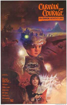 The Ewok Adventure - 11 x 17 Movie Poster - Style A