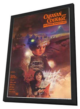 The Ewok Adventure - 11 x 17 Movie Poster - Style A - in Deluxe Wood Frame