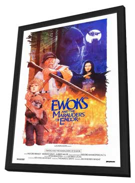 Ewoks: The Battle for Endor - 27 x 40 Movie Poster - Style A - in Deluxe Wood Frame