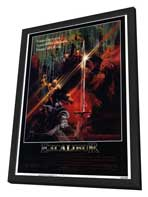 Excalibur - 27 x 40 Movie Poster - Style A - in Deluxe Wood Frame