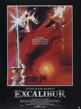 Excalibur - 27 x 40 Movie Poster - French Style A