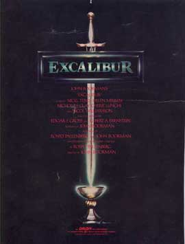 Excalibur - 11 x 17 Movie Poster - Style D