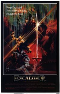 Excalibur - 11 x 17 Movie Poster - Style A - Museum Wrapped Canvas