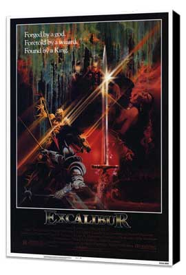 Excalibur - 27 x 40 Movie Poster - Style A - Museum Wrapped Canvas