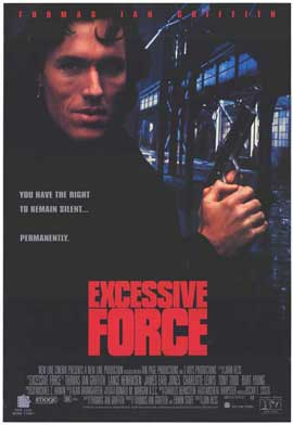 Excessive Force - 11 x 17 Movie Poster - Style B