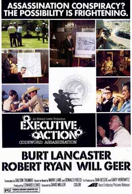 Executive Action - 11 x 17 Movie Poster - Style A