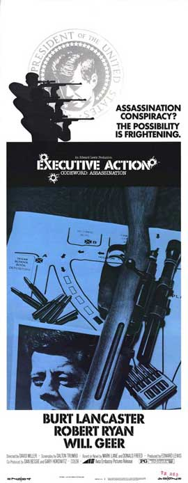 Executive Action - 14 x 36 Movie Poster - Insert Style A