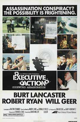 Executive Action - 11 x 17 Movie Poster - Style B
