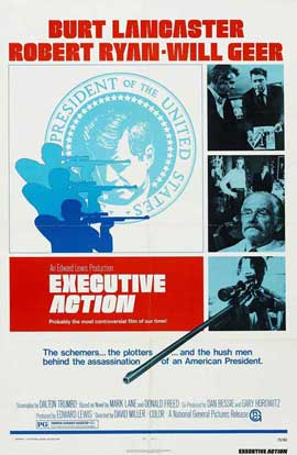 Executive Action - 27 x 40 Movie Poster - Style C