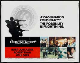 Executive Action - 22 x 28 Movie Poster - Half Sheet Style A