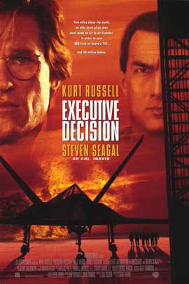 Executive Decision - 11 x 17 Movie Poster - Style A