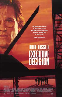 Executive Decision - 11 x 17 Movie Poster - Style B
