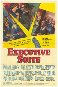 Executive Suite - 43 x 62 Movie Poster - Bus Shelter Style A