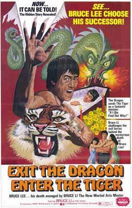 Exit the Dragon, Enter the Tiger - 11 x 17 Movie Poster - Style A