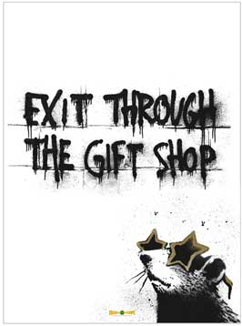 Exit Through the Gift Shop - 11 x 17 Movie Poster - Style B