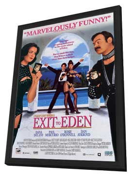 Exit to Eden - 11 x 17 Movie Poster - Style A - in Deluxe Wood Frame