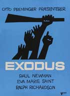 Exodus - 27 x 40 Movie Poster - Danish Style A