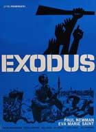 Exodus - 11 x 17 Movie Poster - Danish Style B