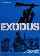 Exodus - 27 x 40 Movie Poster - Danish Style B