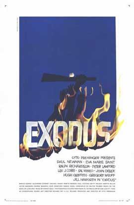 Exodus - 11 x 17 Movie Poster - Style C