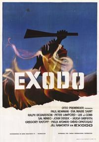 Exodus - 11 x 17 Movie Poster - Spanish Style A