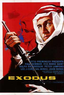 Exodus - 27 x 40 Movie Poster - Style B