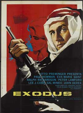 Exodus - 11 x 17 Movie Poster - Italian Style D