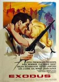 Exodus - 11 x 17 Movie Poster - Italian Style A