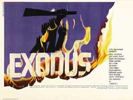 Exodus - 22 x 28 Movie Poster - Half Sheet Style B