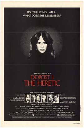 Exorcist 2: The Heretic - 27 x 40 Movie Poster - Style A