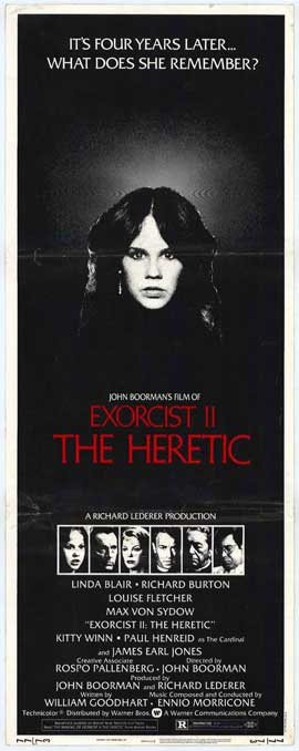 Exorcist 2: The Heretic - 14 x 36 Movie Poster - Insert Style A