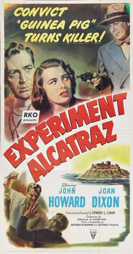 Experiment Alcatraz - 20 x 40 Movie Poster - Style A