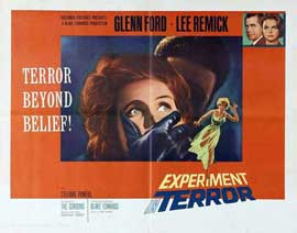 Experiment in Terror - 11 x 14 Poster UK Style A