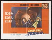 Experiment in Terror - 22 x 28 Movie Poster - Style A