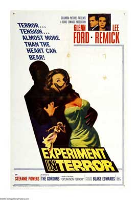 Experiment in Terror - 27 x 40 Movie Poster - Style A